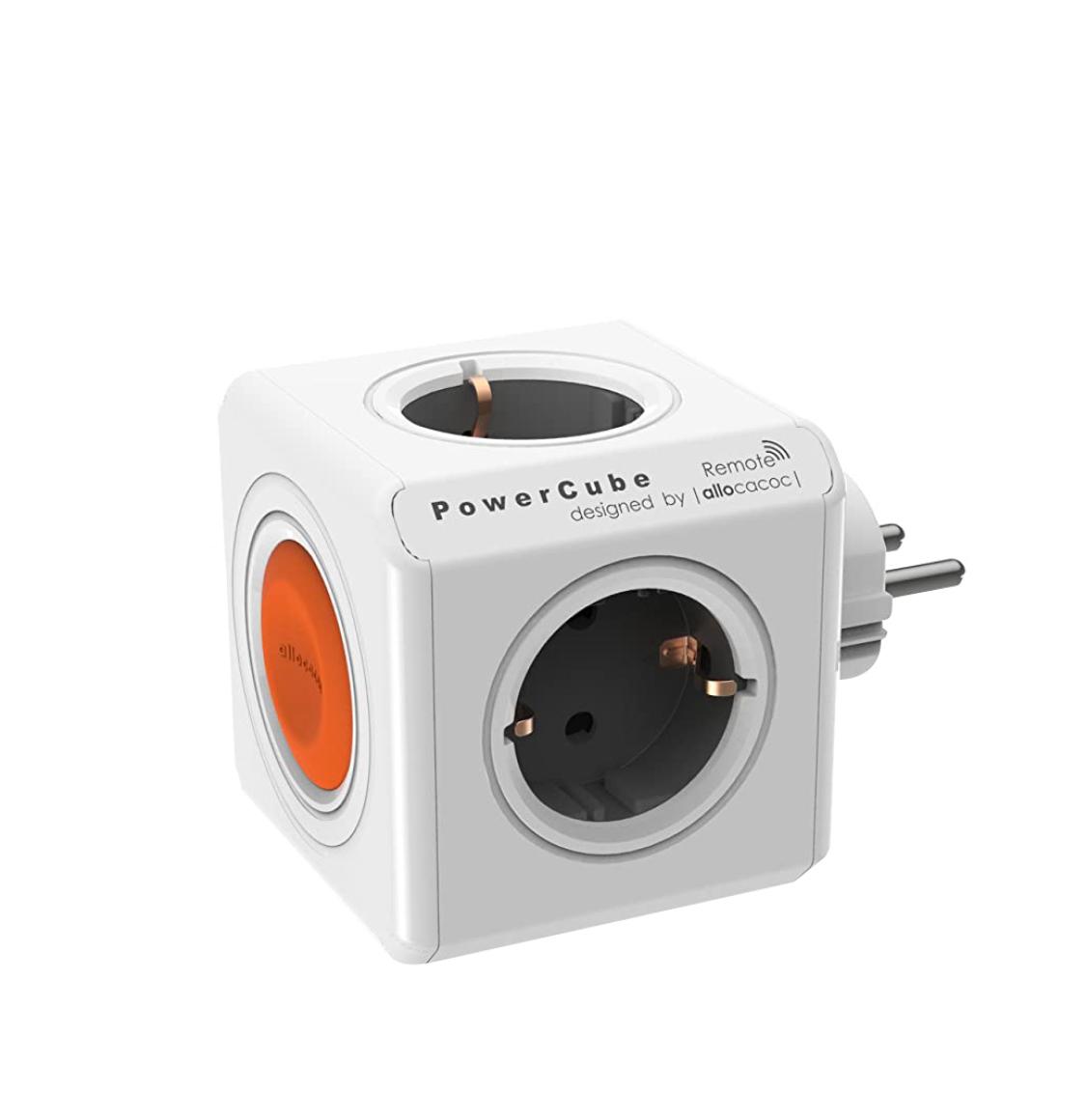 Allocacoc Power Cube Original Remote Γκρι