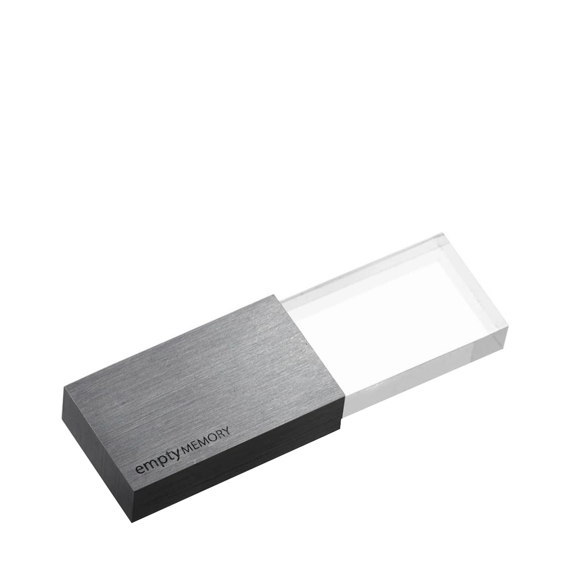 Beyond Object USB Memory Transparency Gun Metal