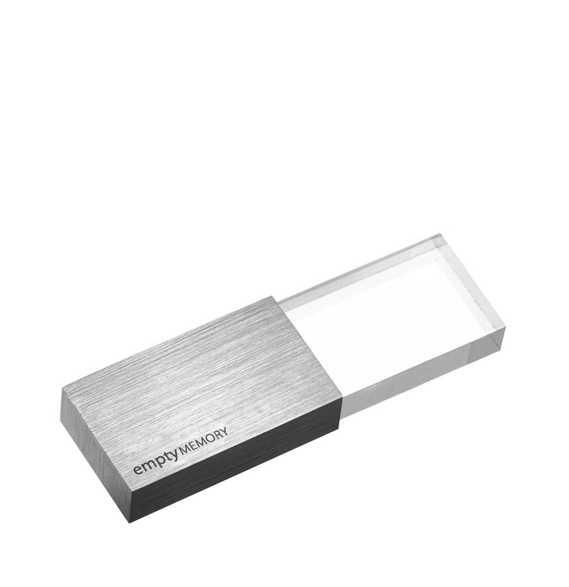 Beyond Object USB Memory Transparency Stainless Steel