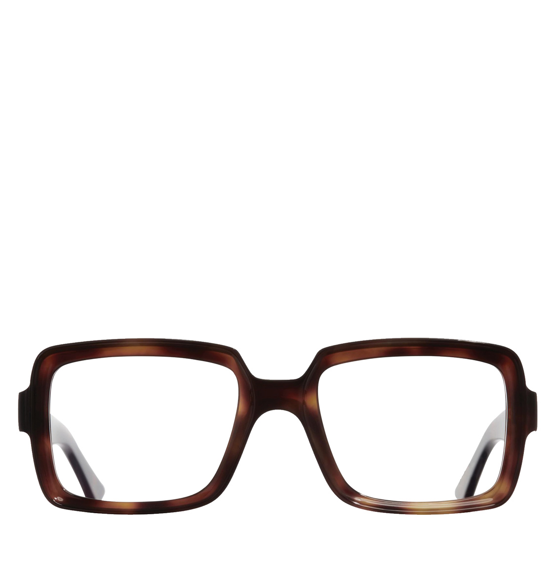 Cutler and Gross Square-Frame Dark Turtle Acetate Optical Glasses