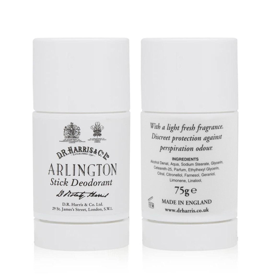 D R Harris Arlington Stick Deodorant 75g