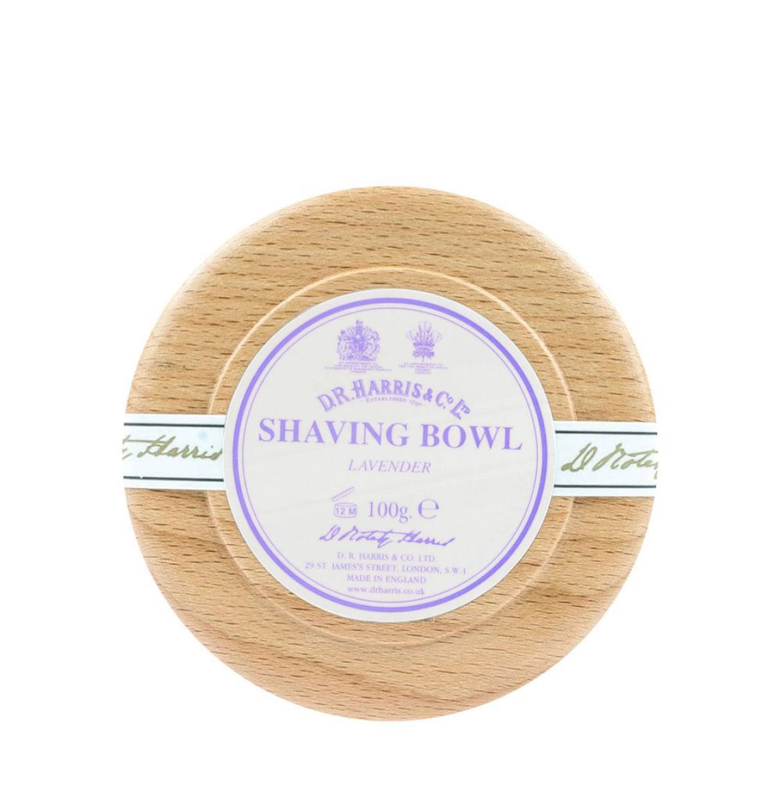 D R Harris Lavender Shaving Beech Bowl 100g