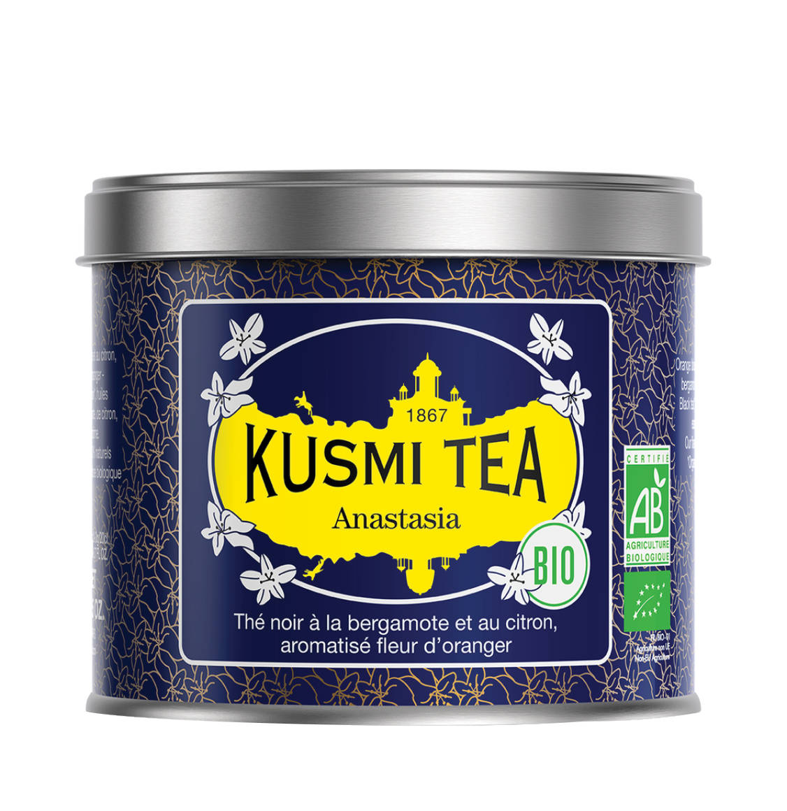 Kusmi Tea Anastasia Organic Exclusive Blend Loose Tea BIO 100g