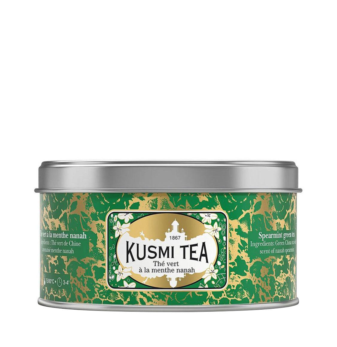 Kusmi Tea Spearmint Green Tea 125g