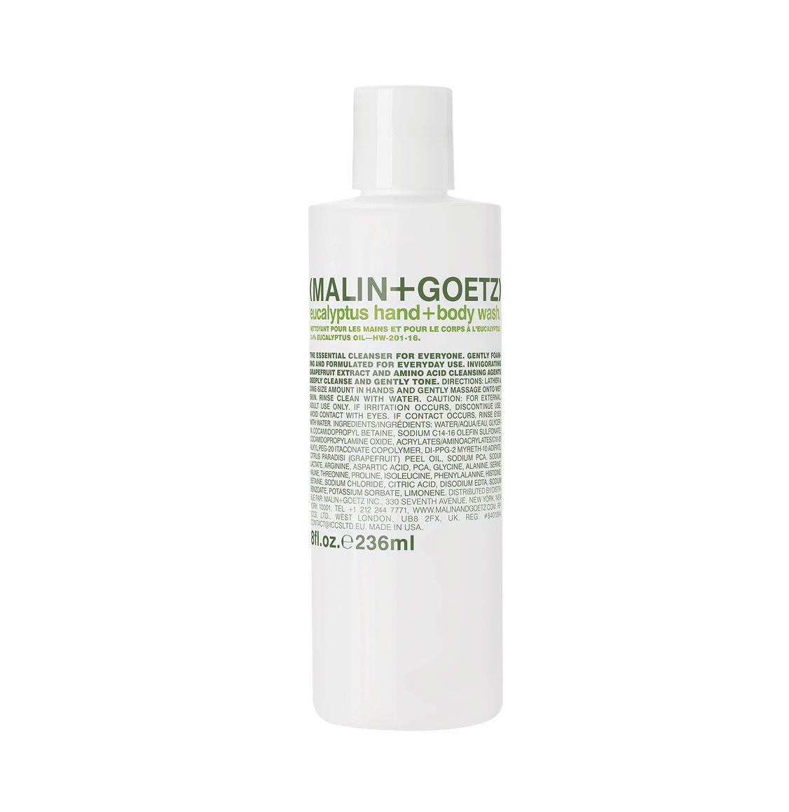 Malin and Goetz Eucalyptus Body Wash 236ml
