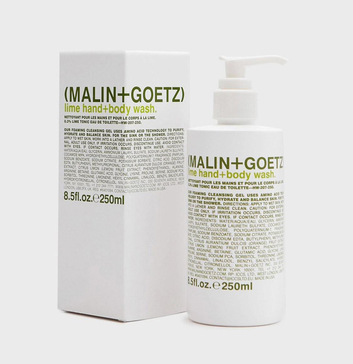 Malin and Goetz Lime Body Wash 250ml