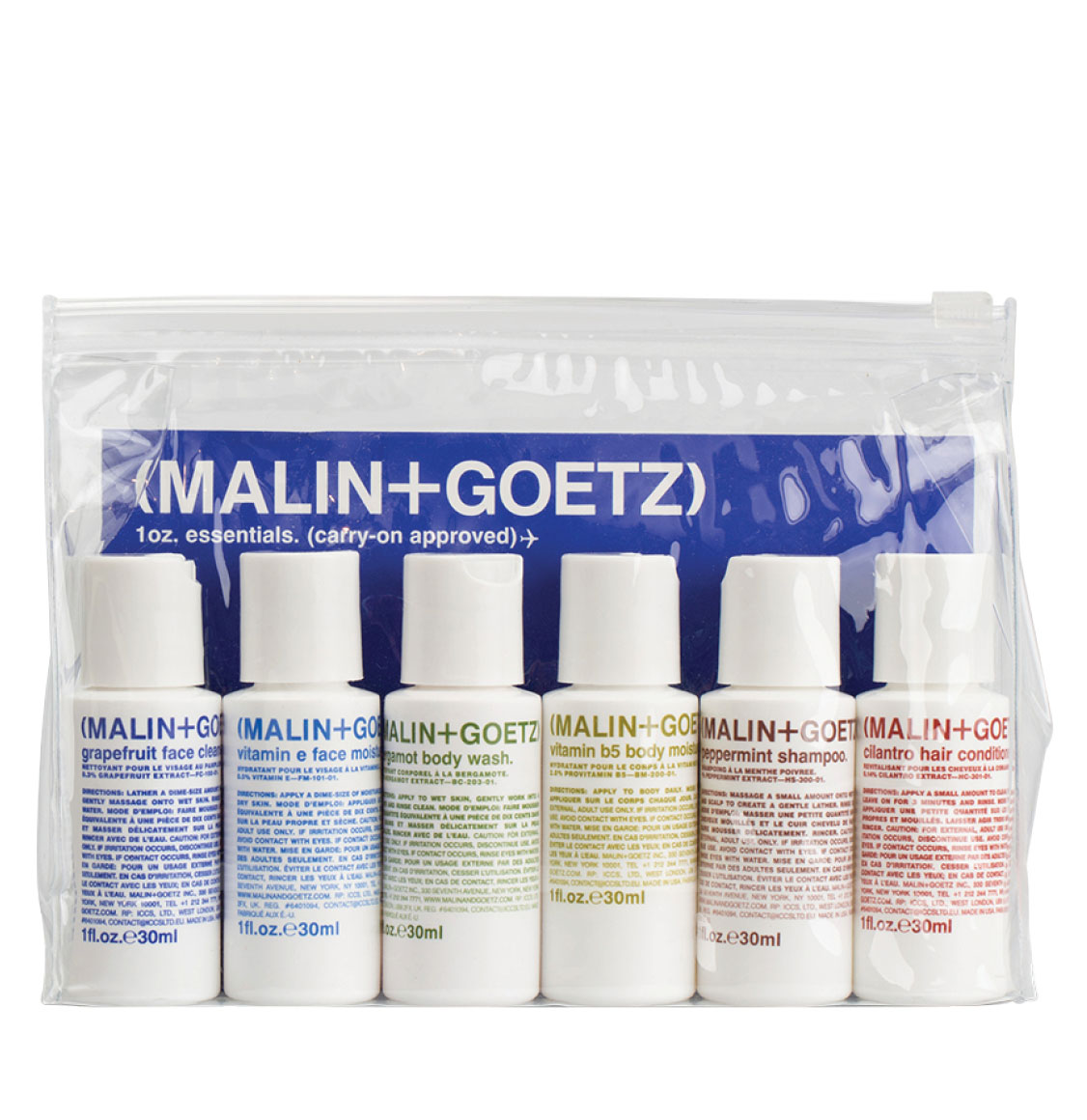 Malin and Goetz Essential Travel Kit