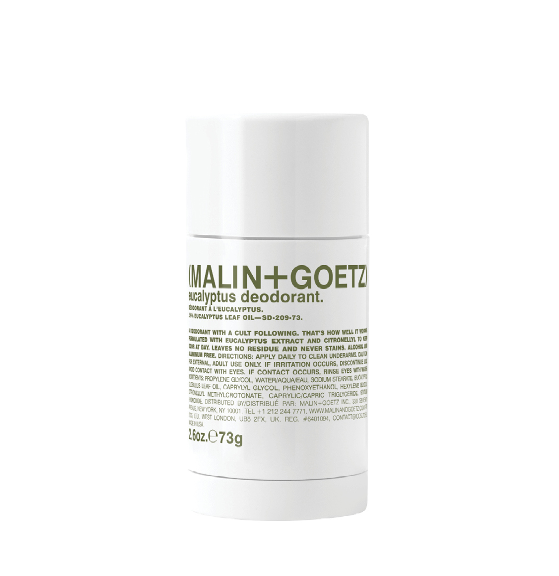 Malin And Goetz Eucalyptus Stick Deodorant 73g