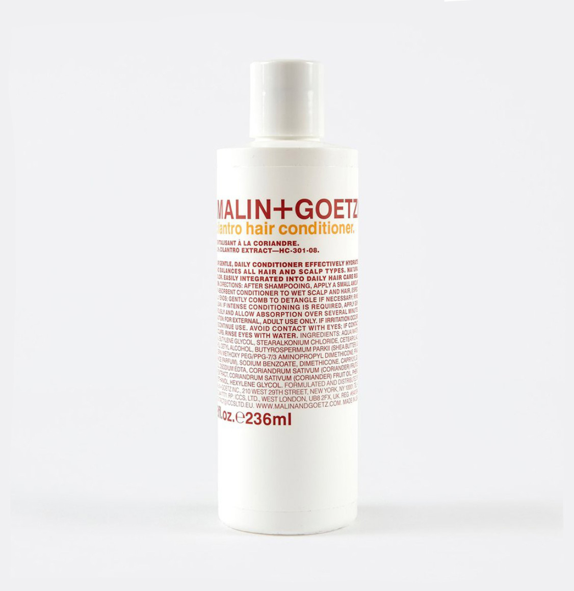 Malin And Goetz Cilantro Daily Hair Conditioner 236ml