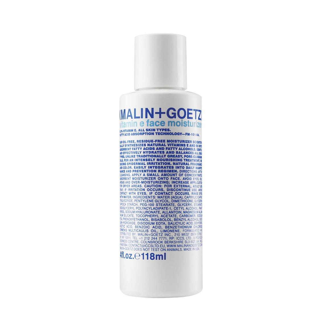 Malin and Goetz Vitamin E Face Moisturizer 118ml