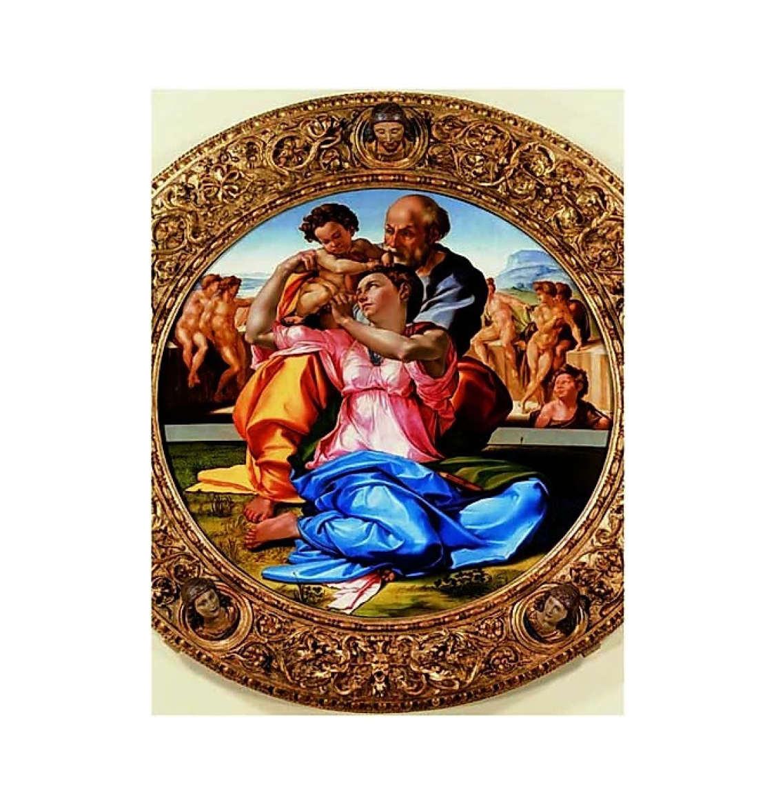 Ricordi Παζλ Michelangelo Sacra Famiglia 1500 Κομμάτια RICO5801N15866A