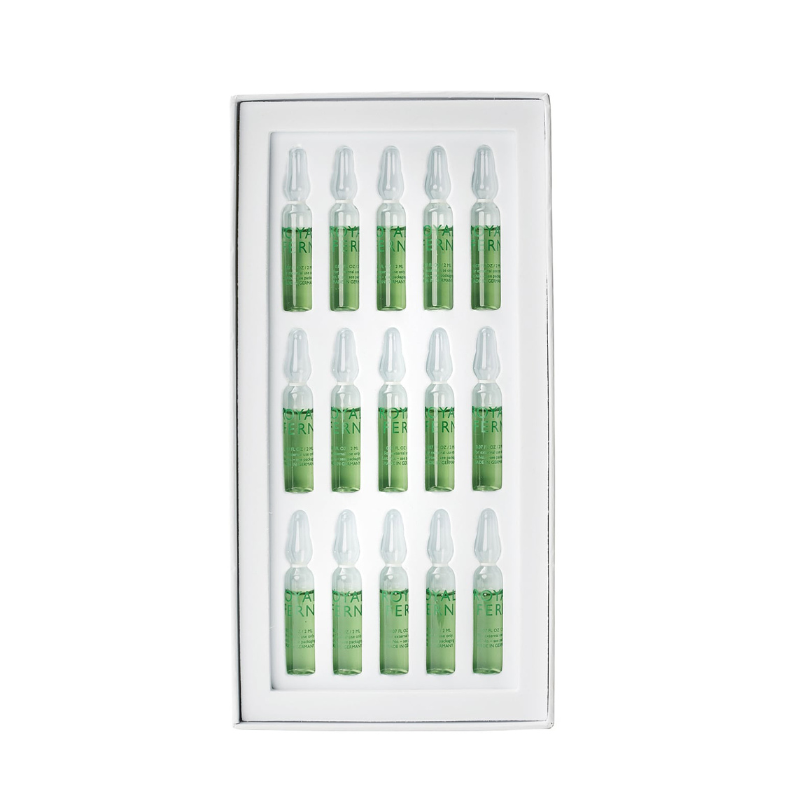 Royal Fern Phytoactive Illuminating Ampoules 15 x 2ml
