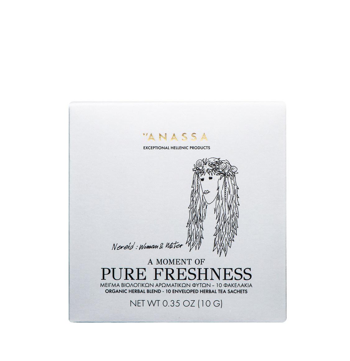 Anassa Organics Pure Freshness Μείγμα Βιολογικών Βοτάνων