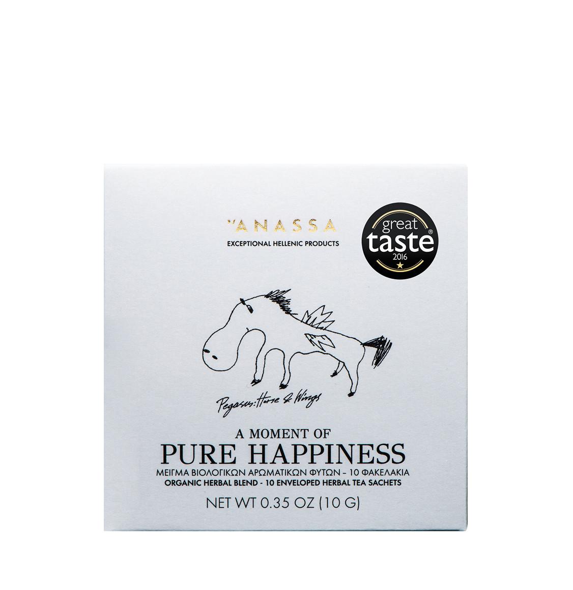 Anassa Organics Pure Happiness Μείγμα Βιολογικών Βοτάνων