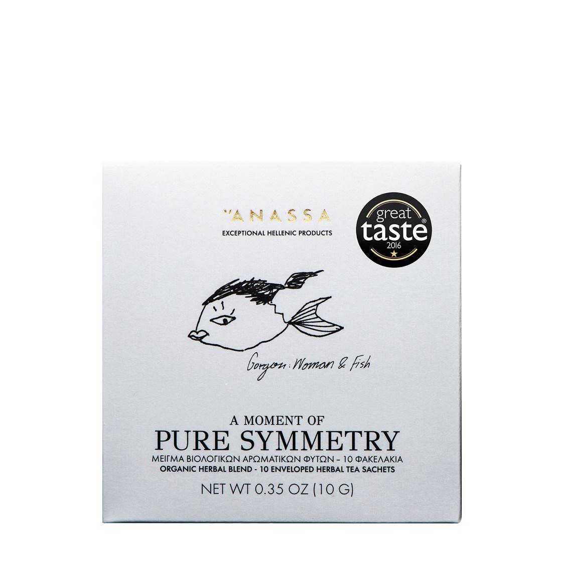 Anassa Organics Pure Symmetry Μείγμα Βιολογικών Βοτάνων