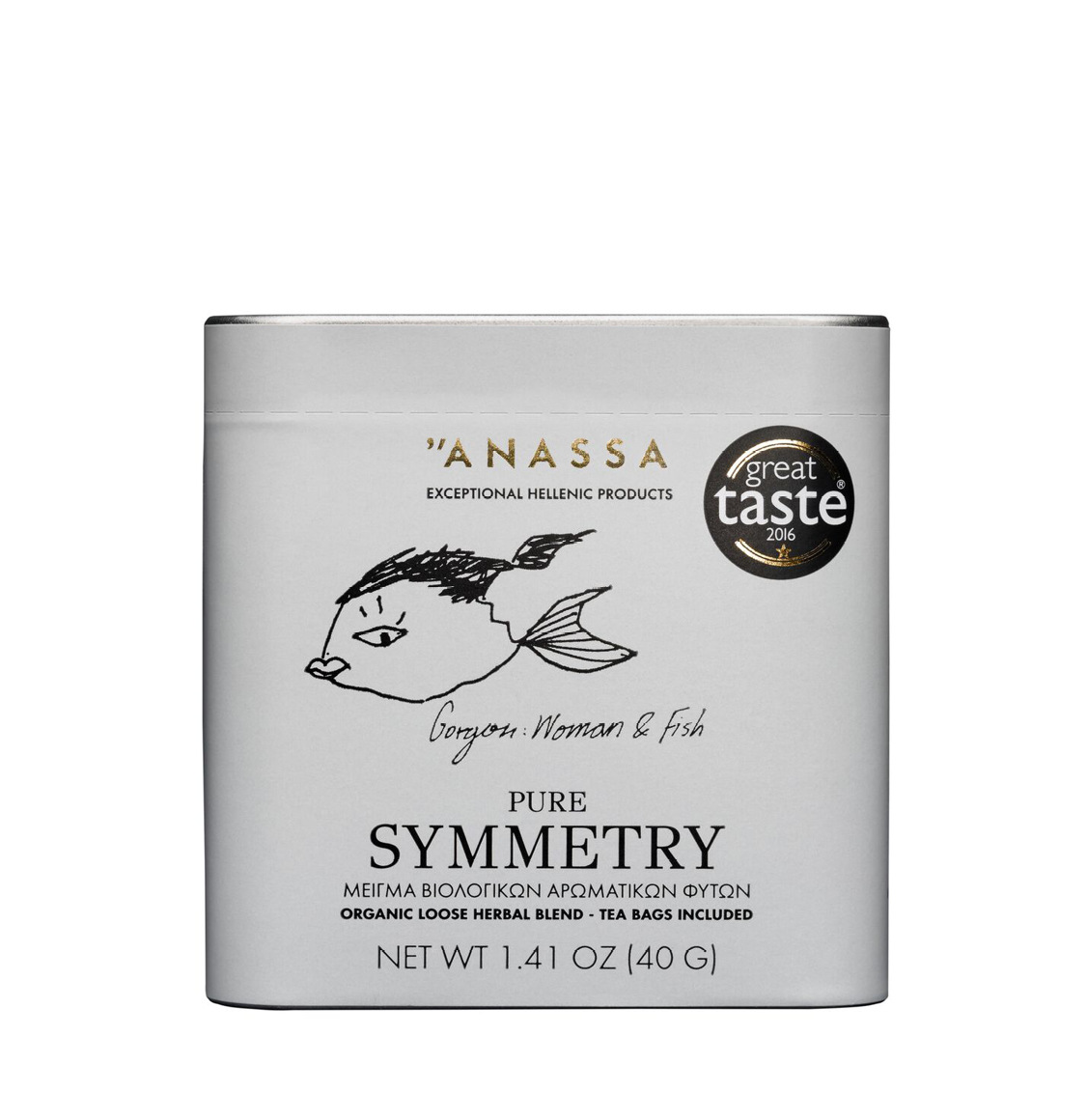 Anassa Organics Pure Symmetry Tin Μείγμα Βιολογικών Βοτάνων
