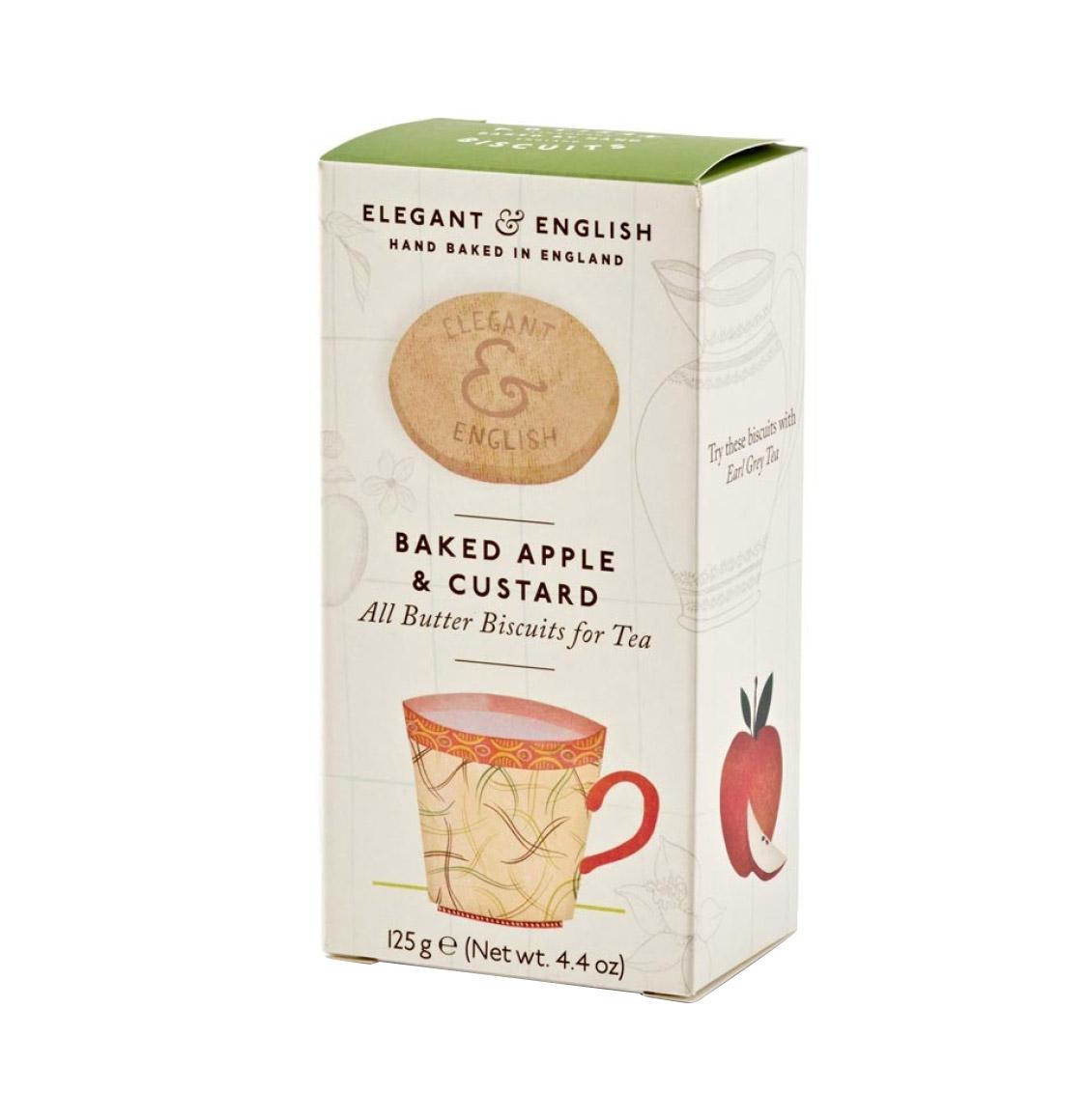 Artisan Biscuits Μπισκότα Ψητού Μήλου και Κρέμας 125g