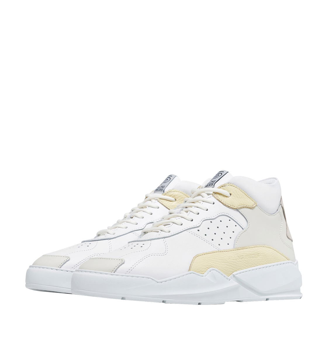 Filling Pieces Lay Up Icey Flow 2.0 White Yellow