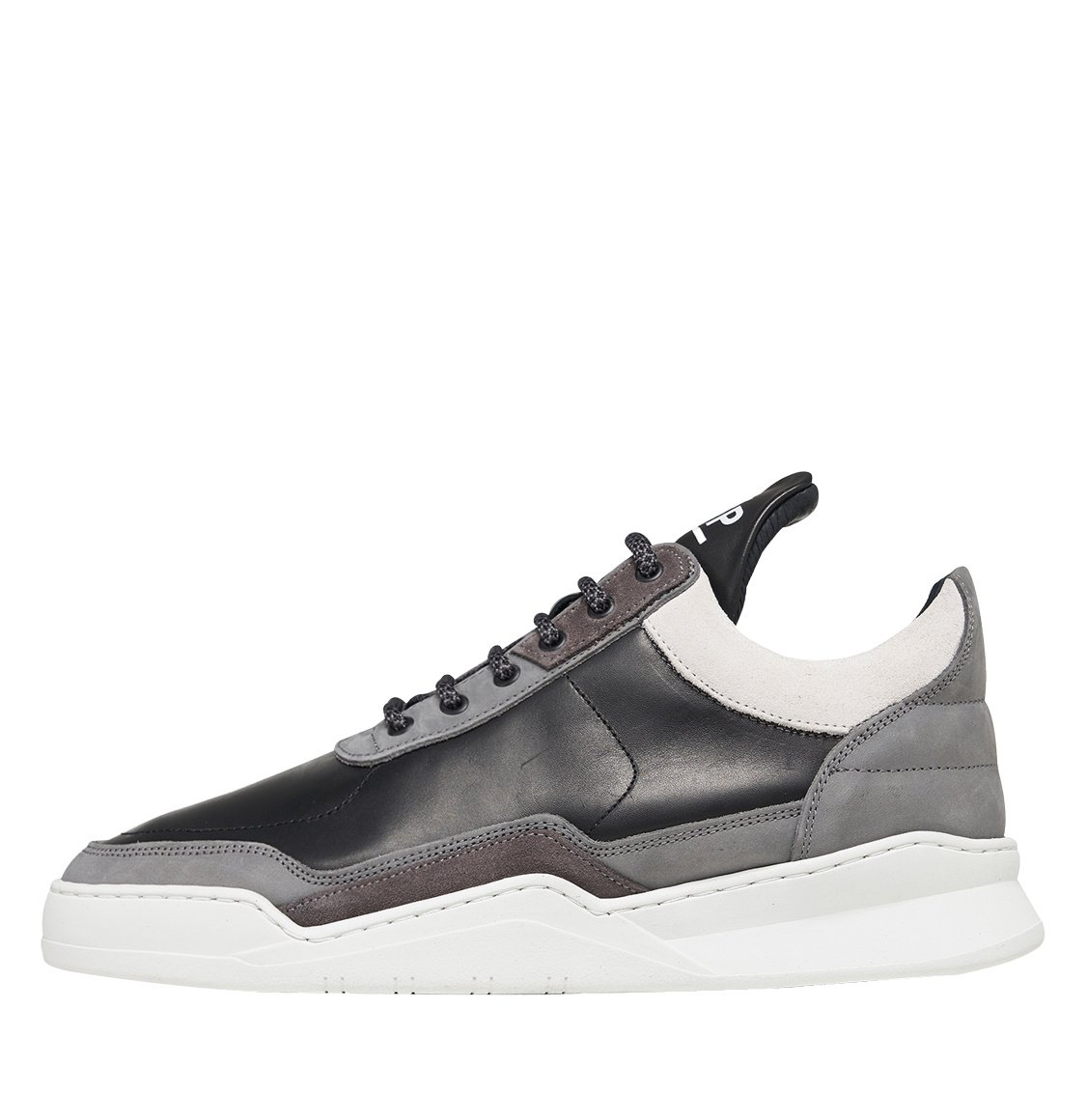 Filling Pieces Low Top Ghost Decon Black