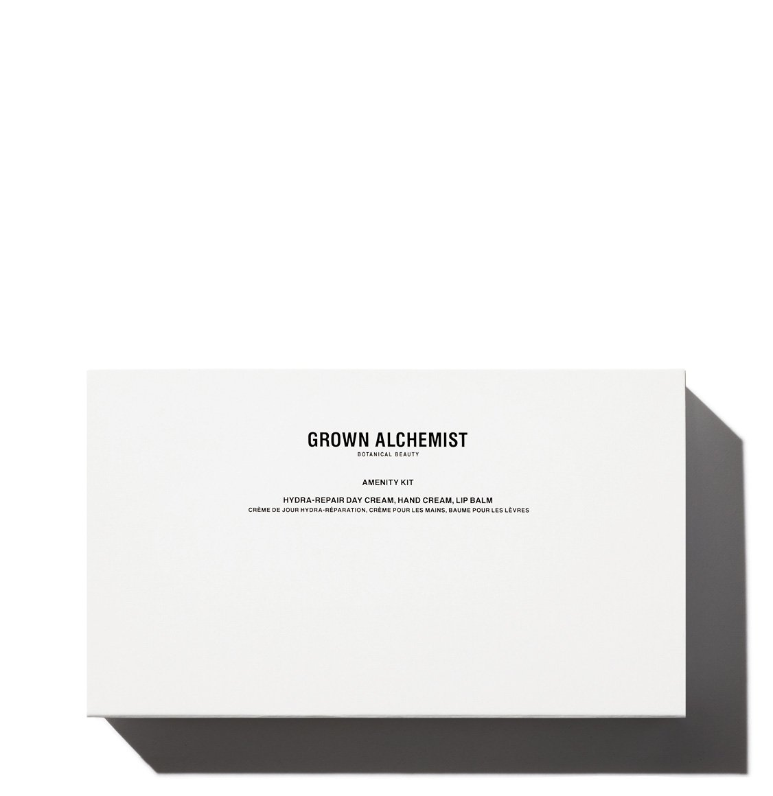 Grown Alchemist Day Cream 12ml Hand Cream 20ml Lip Balm 12ml Amenity Kit