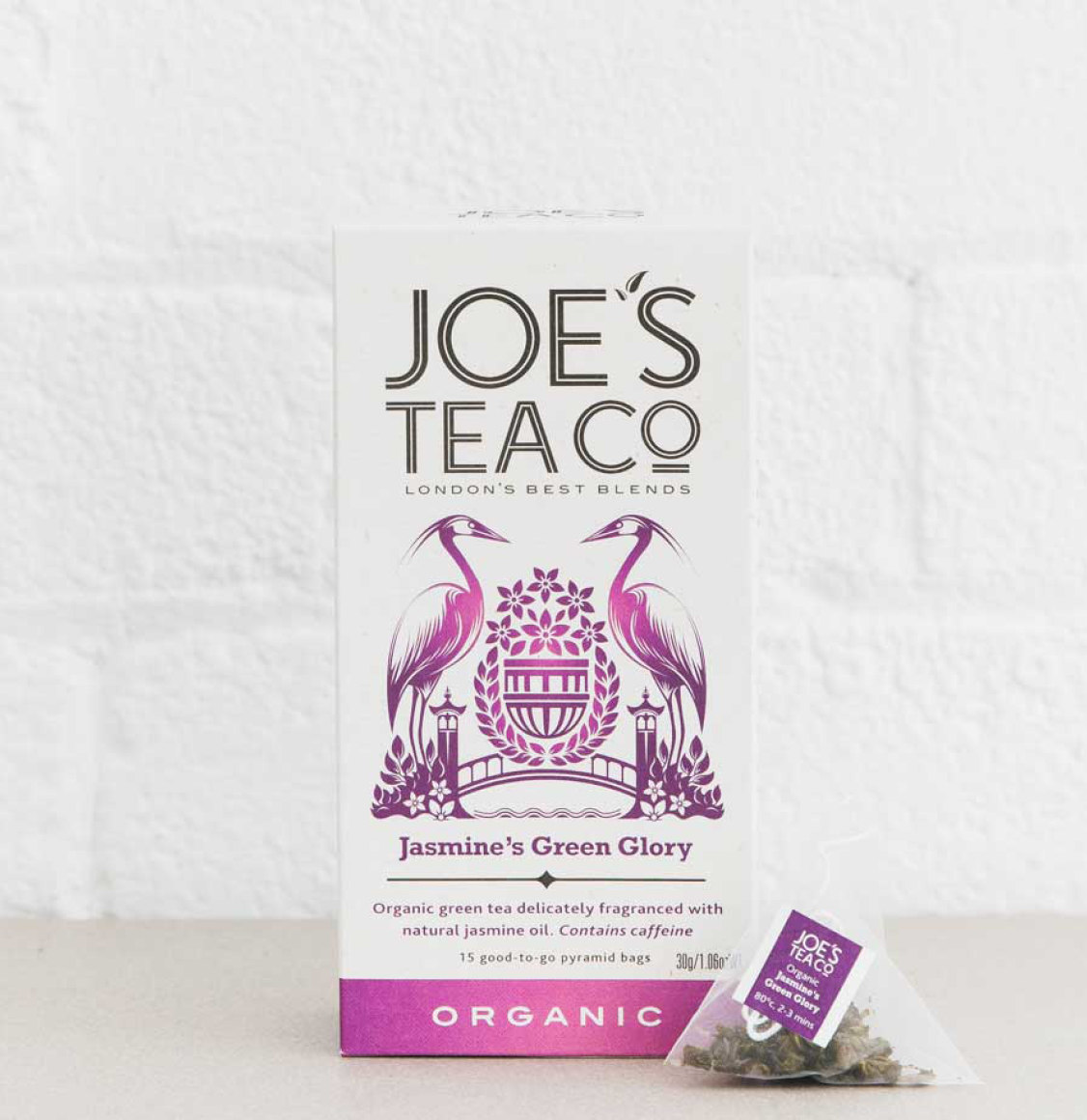 Joe's Tea Co Jasmine Green Tea 52.5g