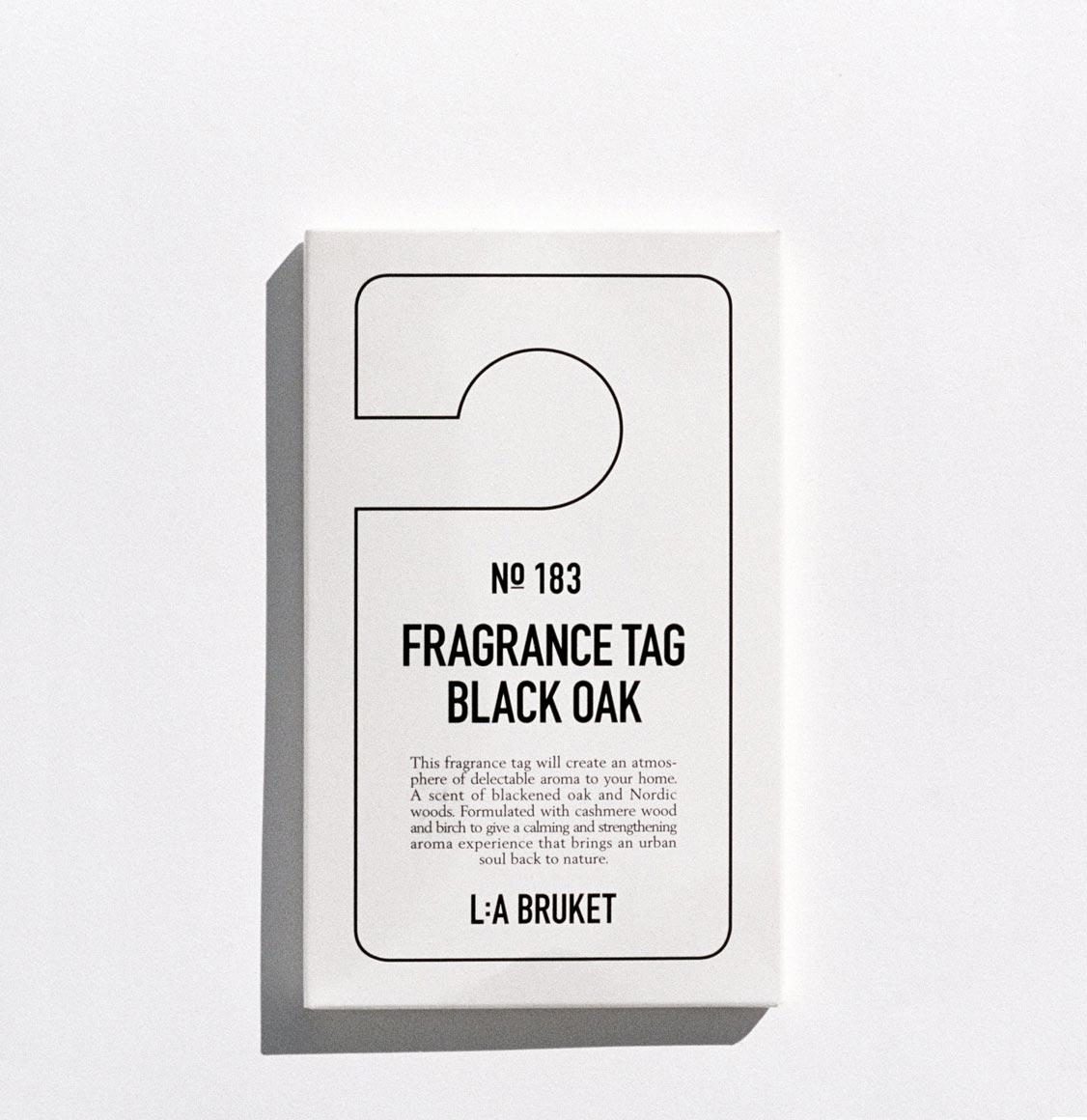 LA Bruket 183 Black Oak Scented Wardrobe Fresheners