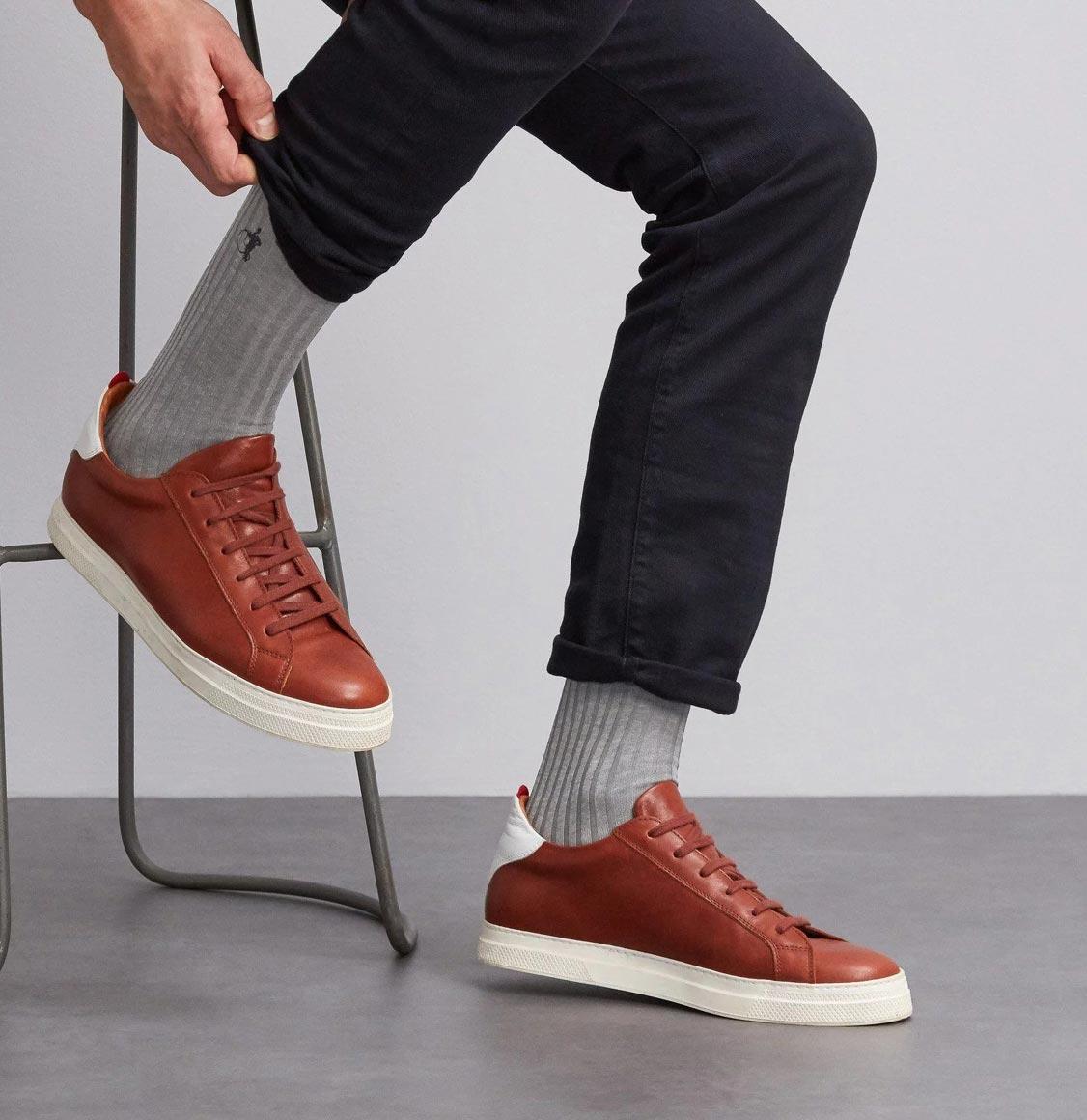 London Sock Co Simply Sartorial Socks Earl Grey