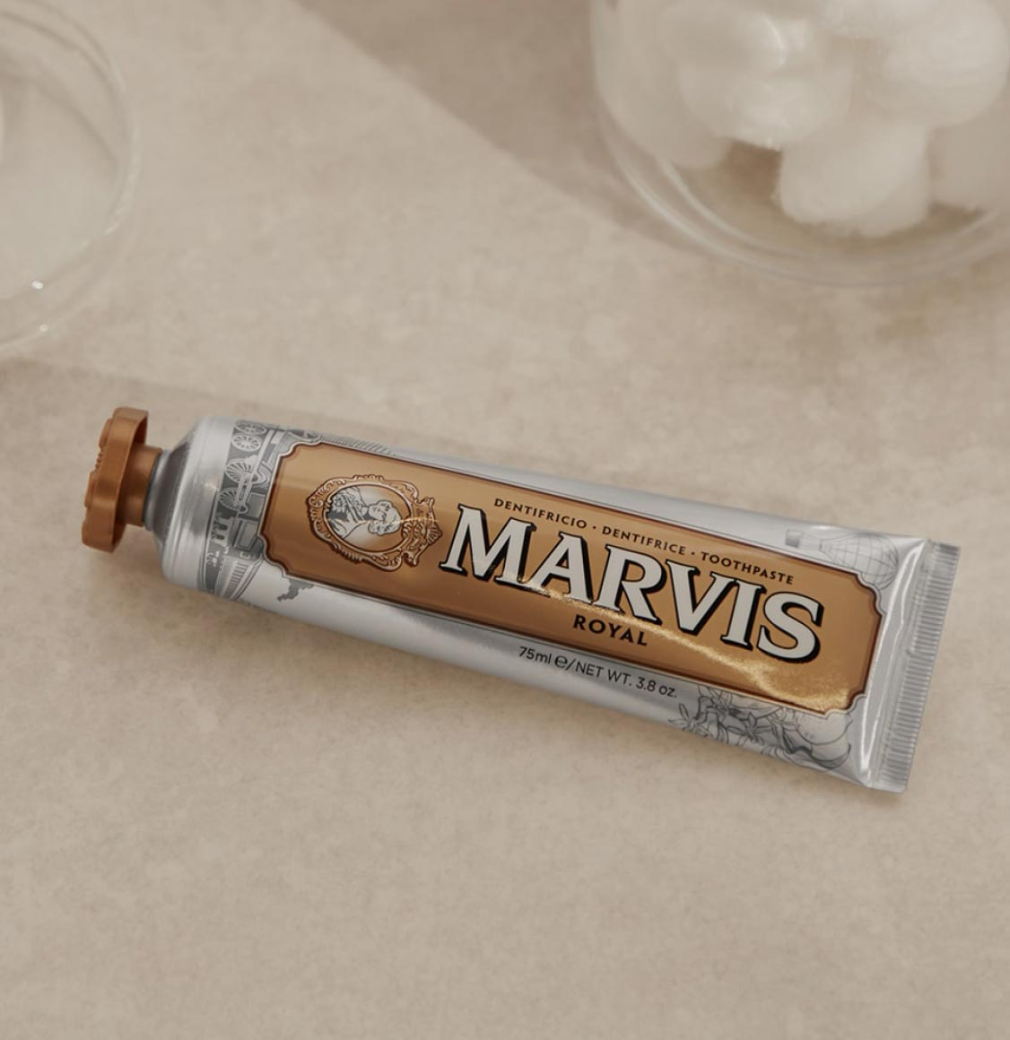 Marvis Royal Limited Edition Toothpaste 75ml