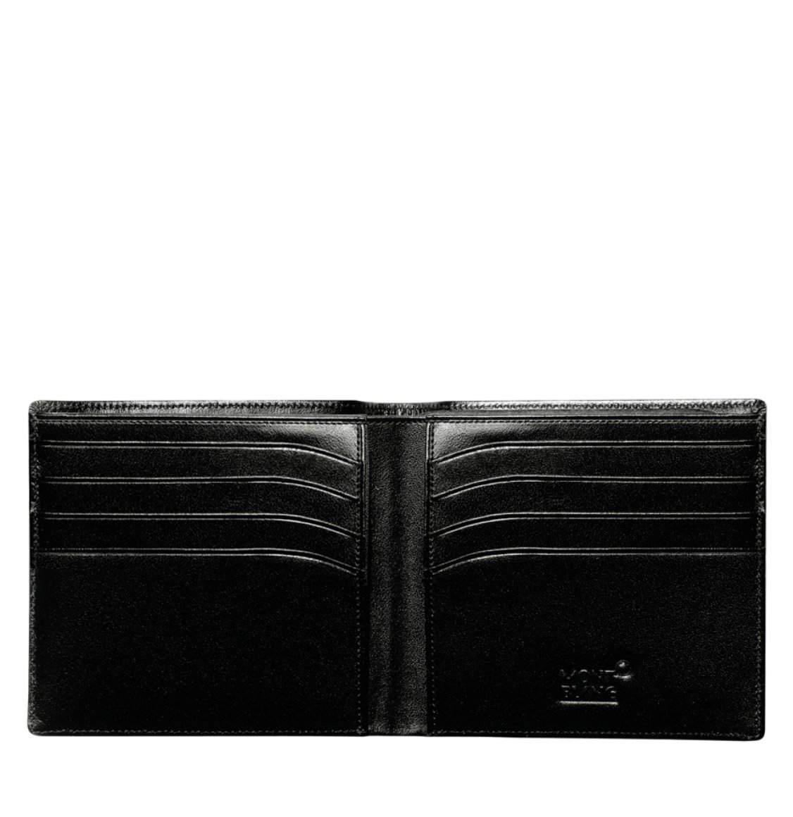 Montblanc Leather Wallet 8 Credit Cards
