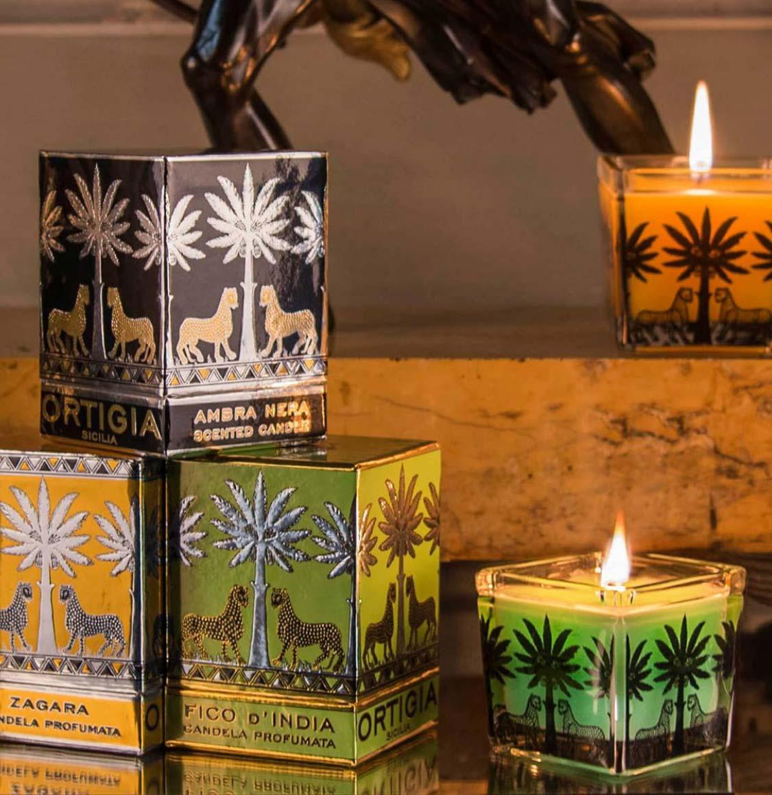 Ortigia Sicilia Fico D' India Candle 170g