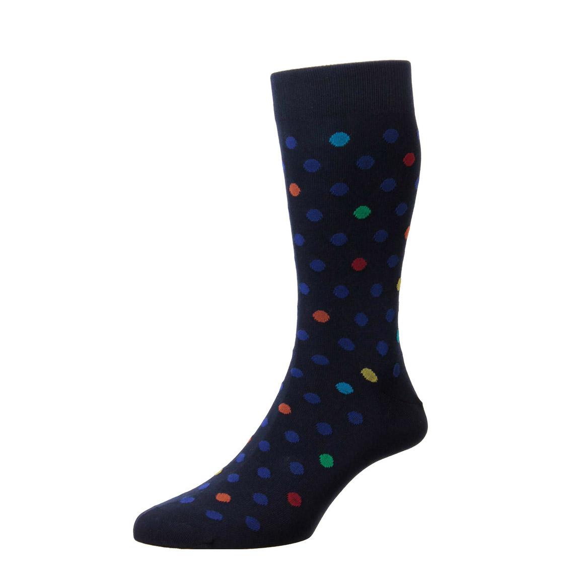 Pantherella Socks Somerford Navy