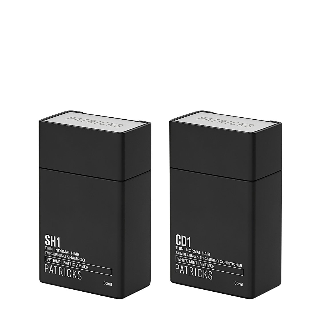 Patricks SH1 | CD1 Shampoo and Conditioner Travel Set