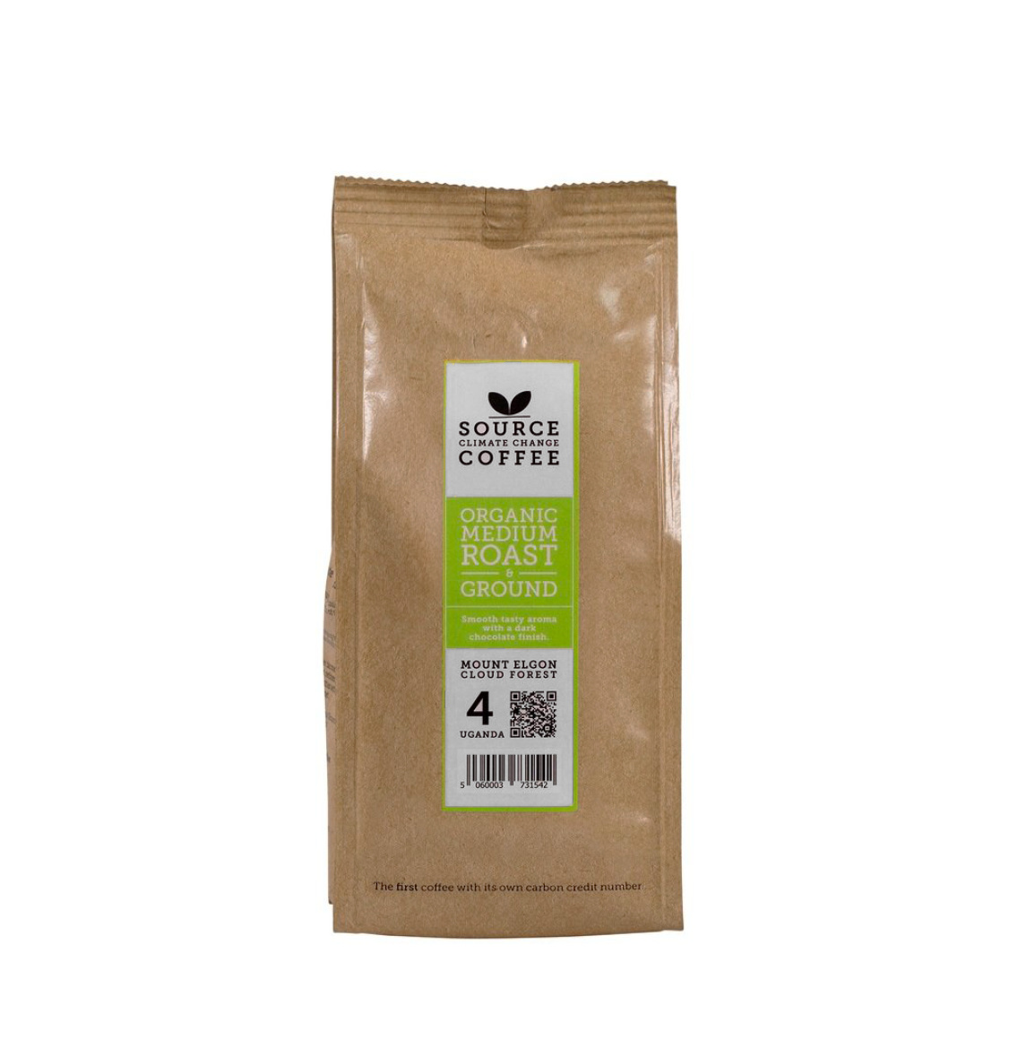 Source Climate Change Organic Mount Elgon Cloud Forest Coffee 227g
