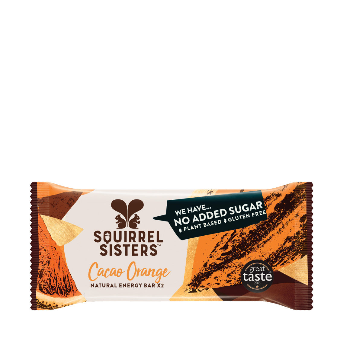 Squirrel Sisters Cacao Orange Bar 4 x 40g