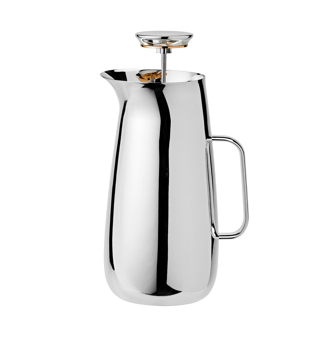 Norman Foster X Stelton Stainless Steel Foster French Press