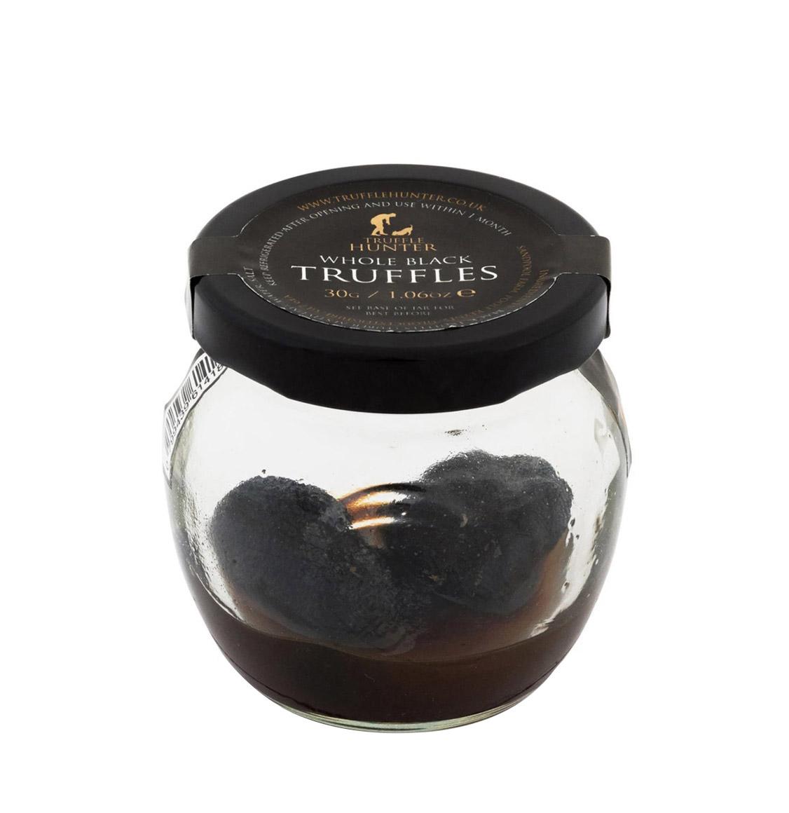 TruffleHunter Ολόκληρες Μαύρες Τρούφες Whole Black Truffles 30g