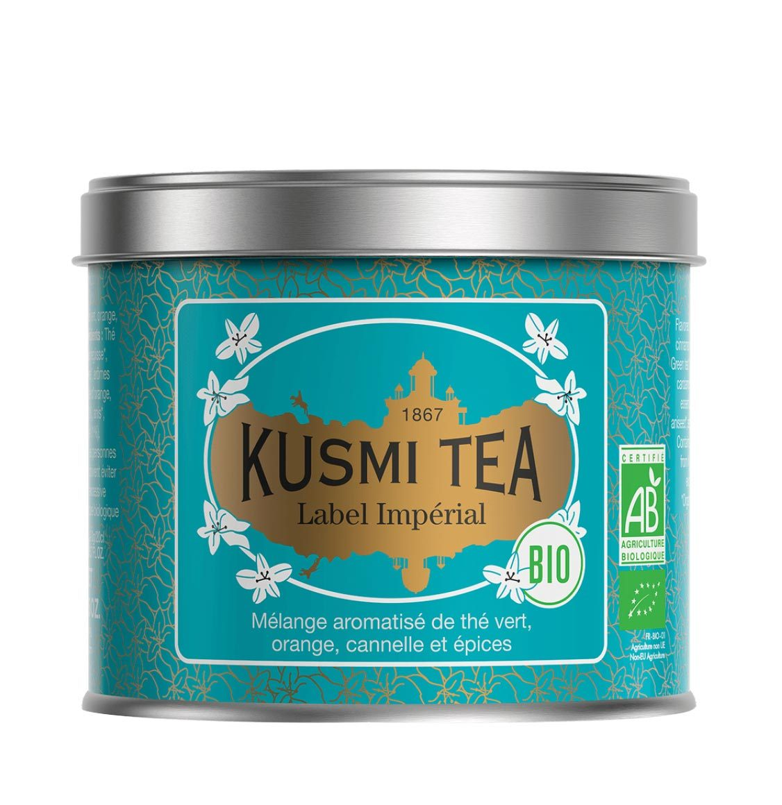 Kusmi Organic Imperial Label Loose Tea 100g