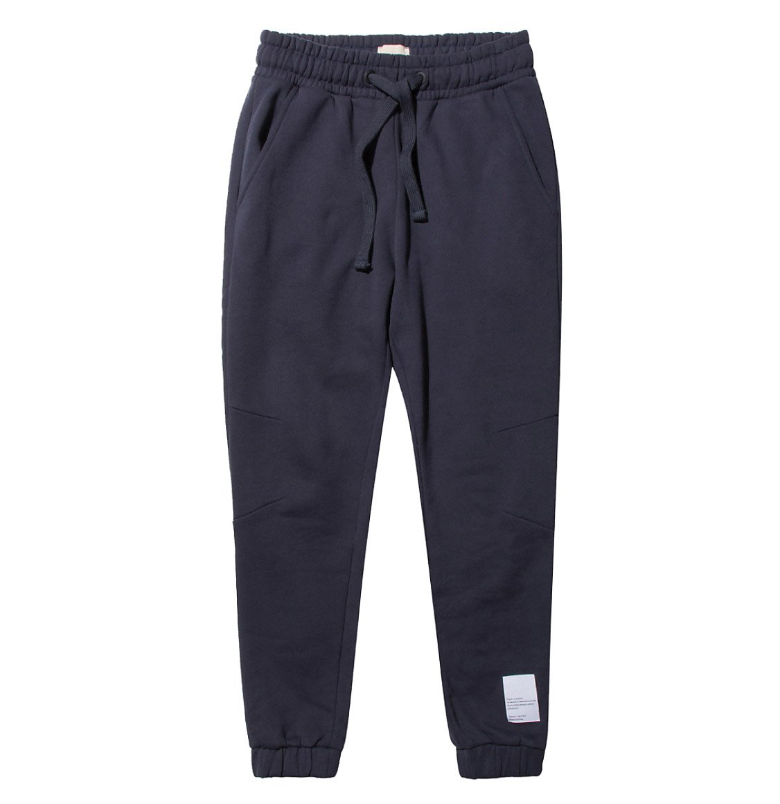 The Project Garments Logomania Regular Fit Cotton Sweatpants Navy Blue