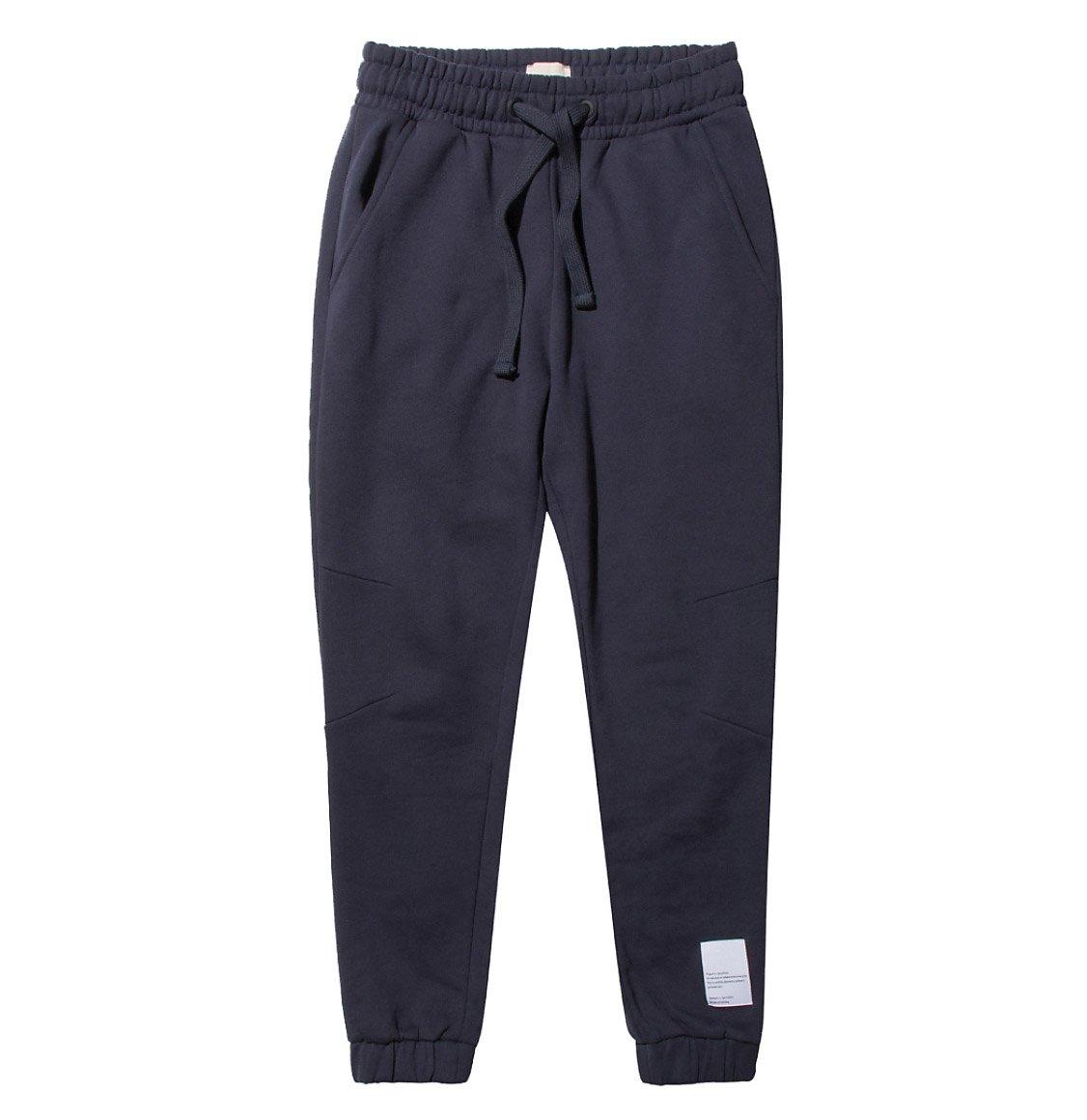 The Project Garments Logomania Regular Fit Cotton Sweatpants Navy Blue