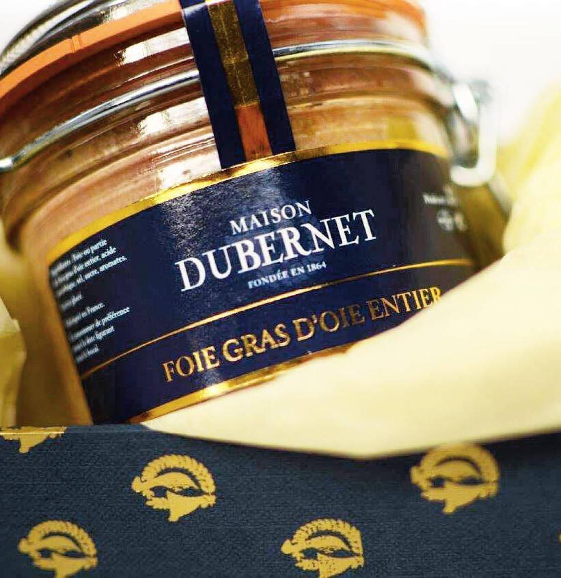 Maison Dubernet Preserved Whole Goose Foie Gras 125g