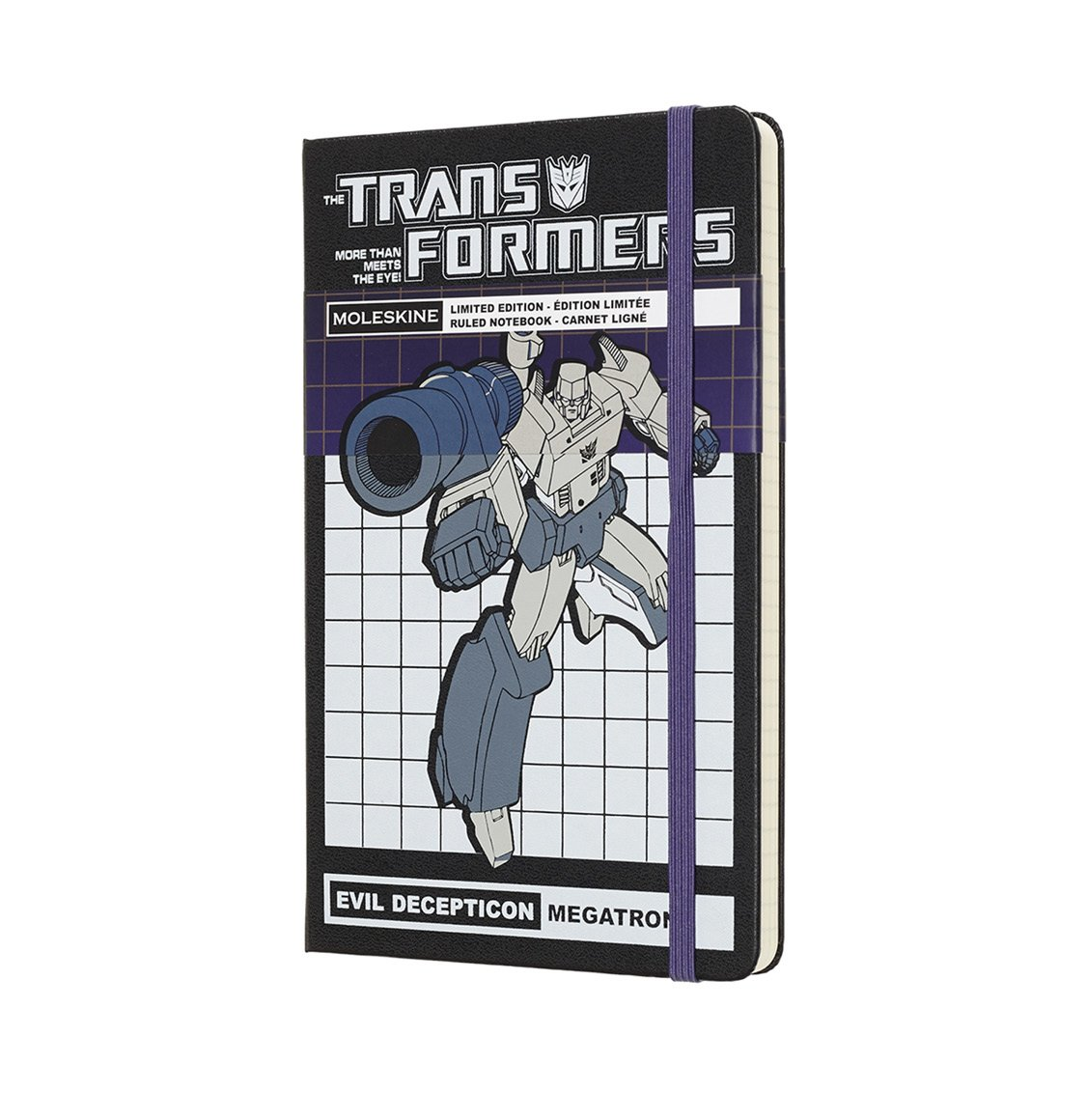 Moleskine Limited Edition Large Ruled Transformers Megatron