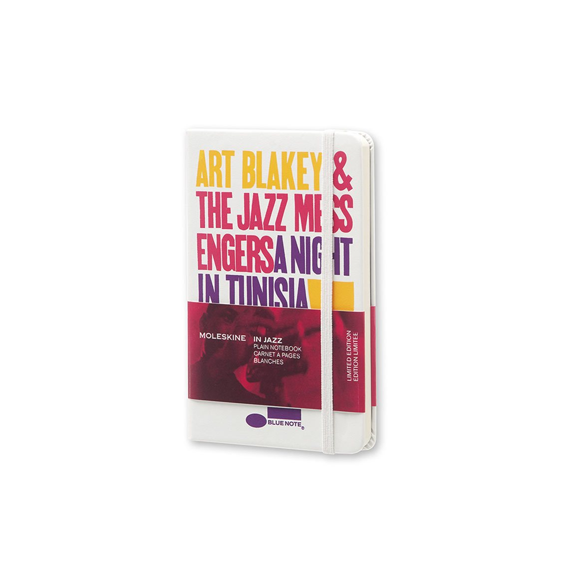 Moleskine Blue Note Limited Edition Pocket Plain Notebook