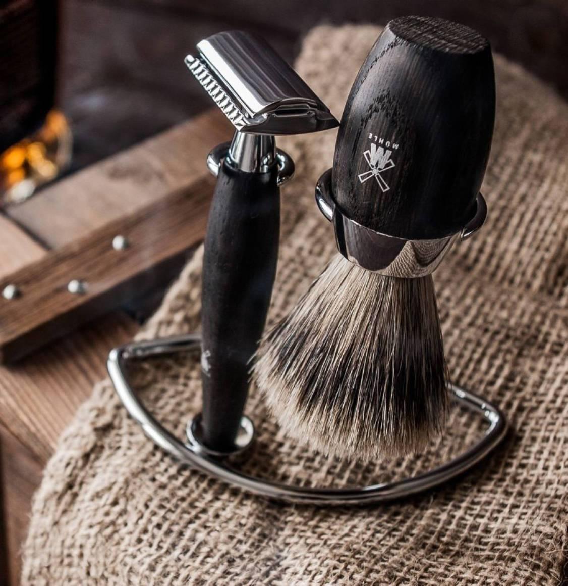 Muhle Fine Badger Brush