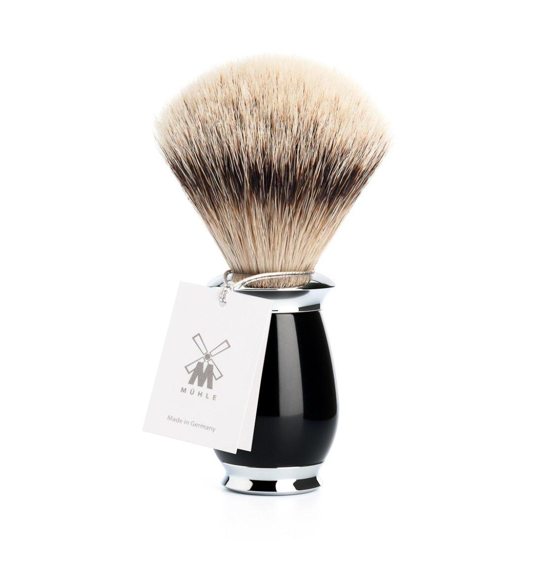 Muhle Purist Silvertip Badger Brush