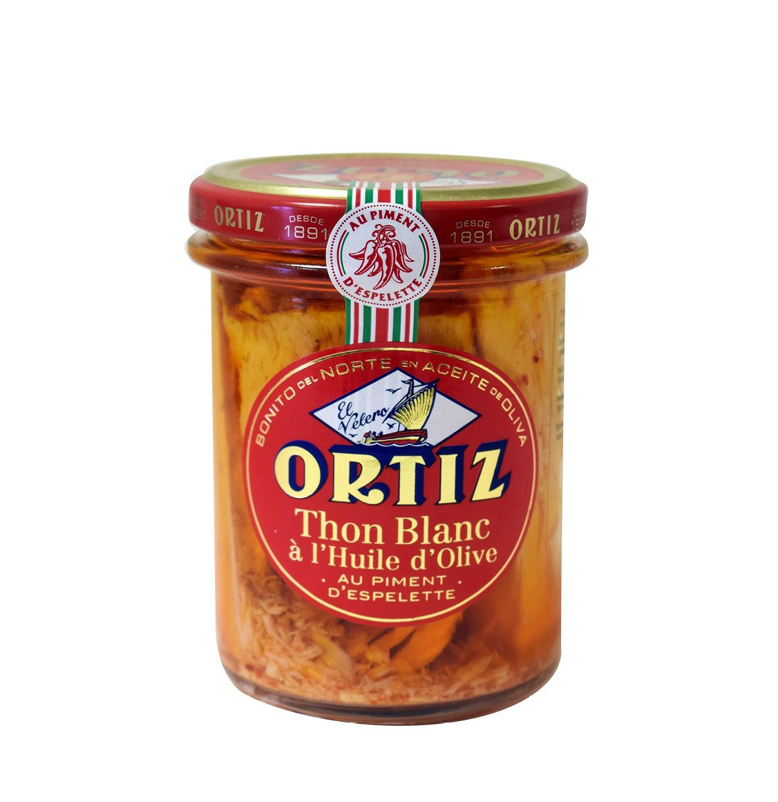 Ortiz White Tuna with Espelette Peppers  220g