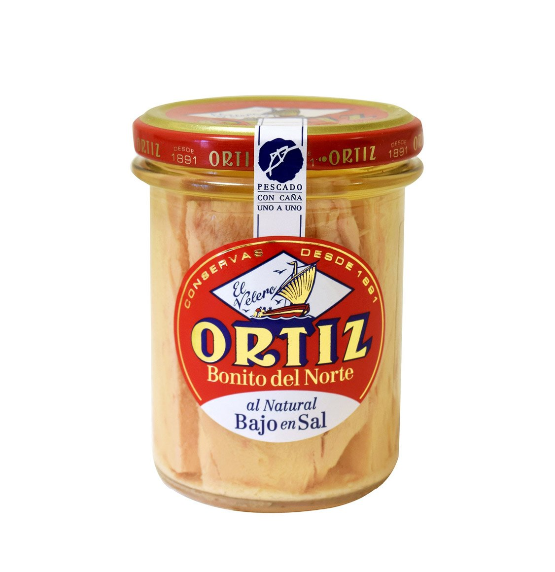 Ortiz White Tuna In Spring Water 220g