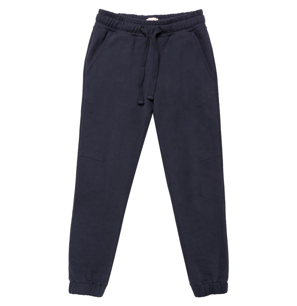 The Project Garments Regular Fit Cotton Sweatpants Navy Blue