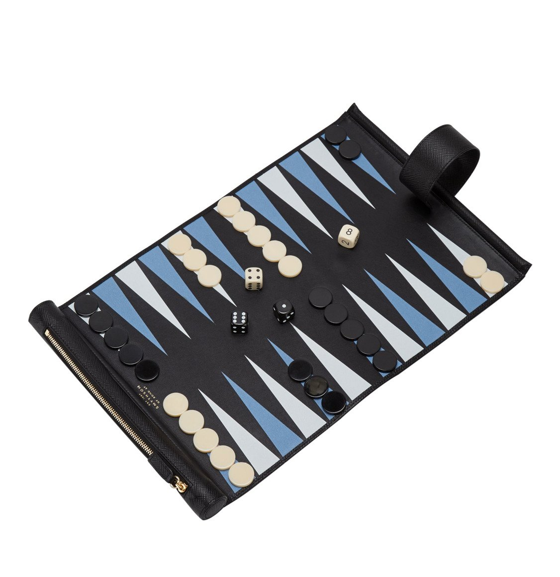 Smythson Panama Travel Backgammon Roll