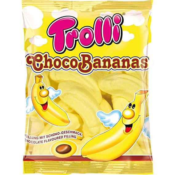 Trolli Choco Bananas Marshmallows 150g