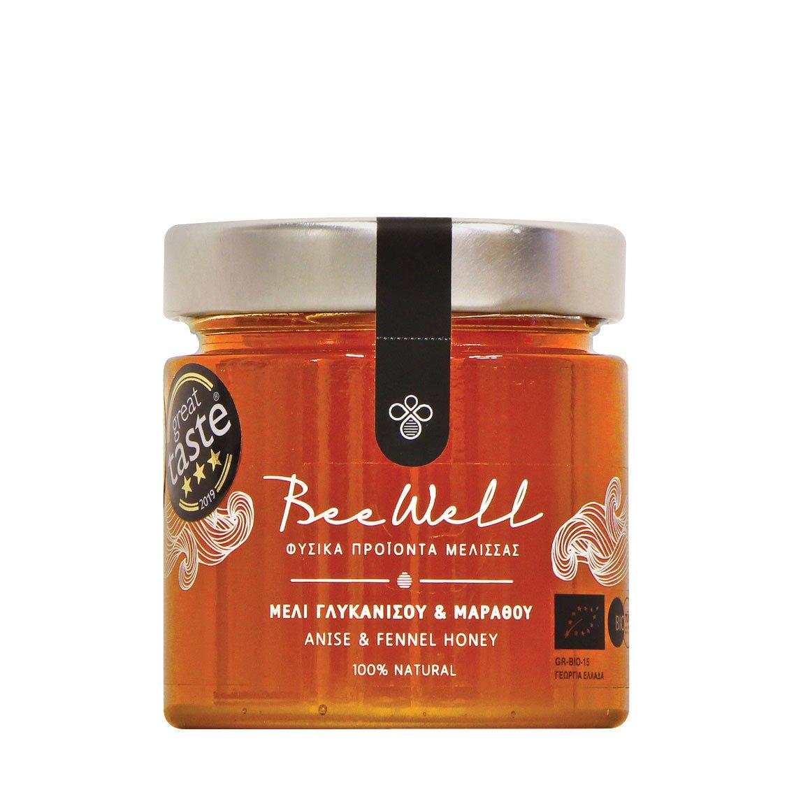 Μέλι Γλυκάνισου Και Μάραθου Beewell Anise and Fennel Honey 300g